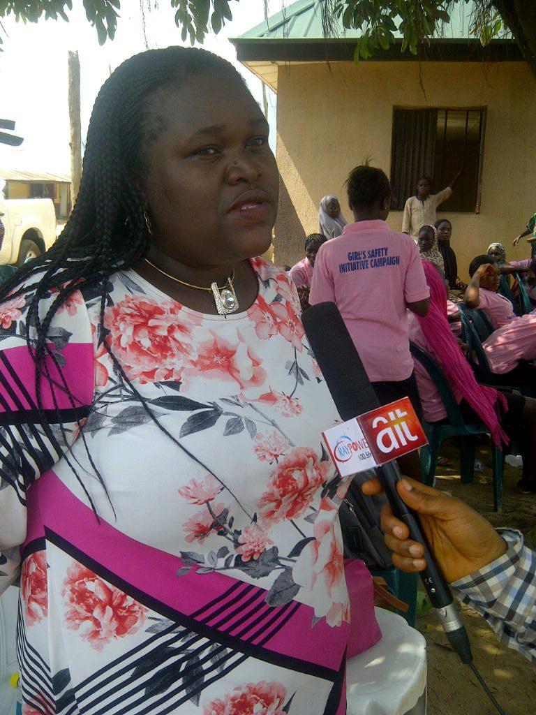 Mrs Omokhide, Programme Officer, Tabitha Cumi Foundation