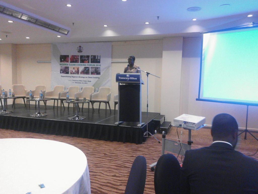 Folake Salawu of ICEED during her presentation
